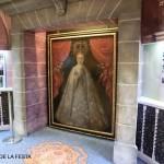 La Virgen de la Asunción. Pintura de autor local (¿siglo XVIII?). Donación al museo de la familia Tormo Santamaría.