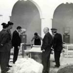 En 1965, la Dama de Elche regresa a la ciudad. Trabajos de recepción de la pieza.