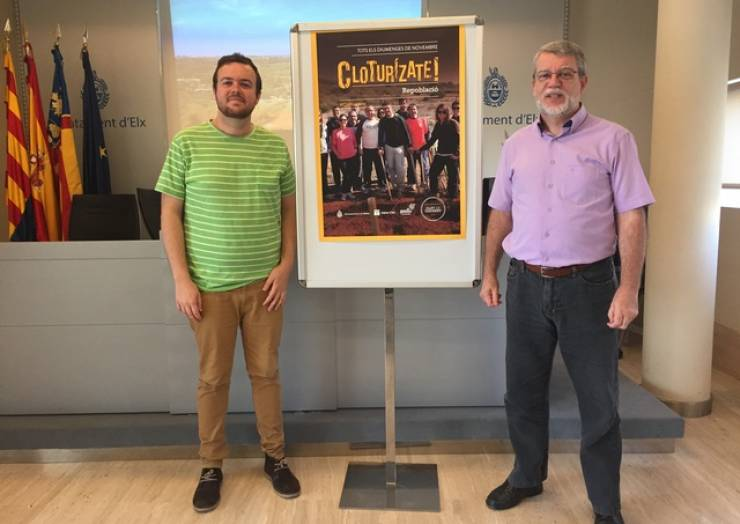 L'Ajuntament anima a la ciudadania a participar en la reforestació del Clot