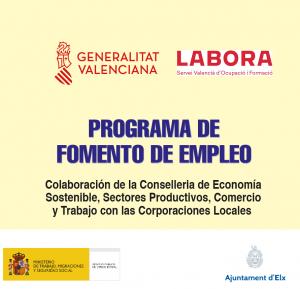 programa de fomento de empleo