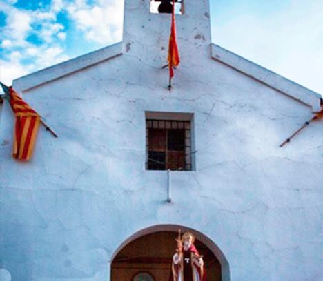 Anuncio con motivo de la celebración de la Romería de San Antón el día 19 de enero de 2020