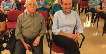 El alcalde inaugura los actos del 40 aniversario de la asociación de vecinos de El Toscar