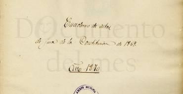Diciembre: La Constitución de 1869