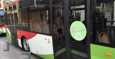 Unidad Territorial identifica a menores causantes de daños en autobús urbano