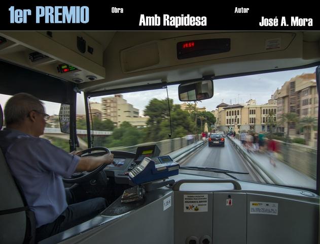 Guanyadors del concurs Autobusos Urbans Setmana de la Mobilitat