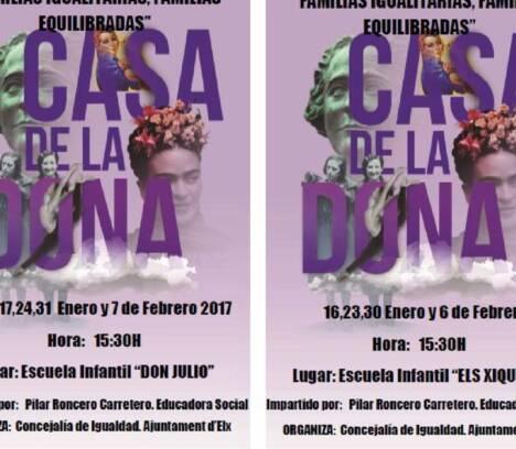 """Proyecto: """"Familias igualitarias, Familias equilibradas"""""""