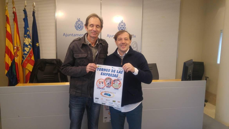 El Ayuntamiento presenta una nueva edición del Torneo de las Empresas