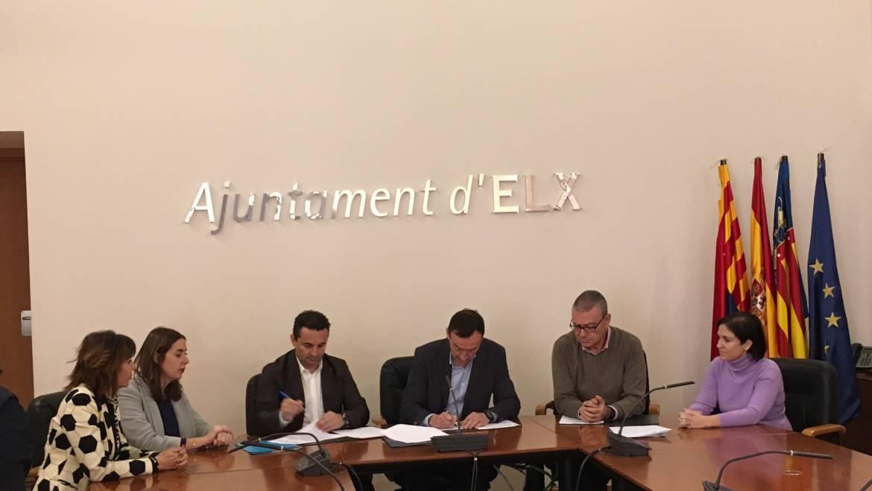 L'Ajuntament i la Diputació firmen tres convenis per un import de més de 700.000 euros
