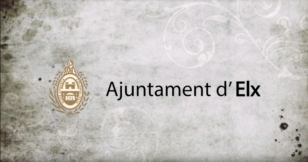 L'Ajuntament d'Elx us desitja bones festes