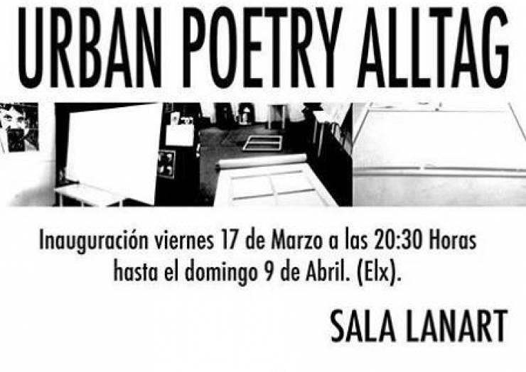 """""""Urban Poetry Alltag"""" de Óscar Blasco"""
