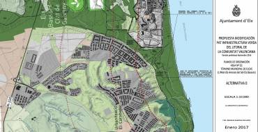 Alegaciones del Ayuntamiento de Elche a la versión inicial del Plan de Acción Territorial de la Infraestructura Verde del Litoral de la Comunidad Valenciana (PATIVEL)