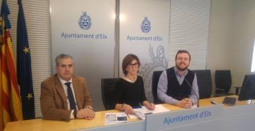 El Ayuntamiento y Aigües d'Elx presentan una nueva modalidad del pago del agua