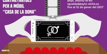 """Comienza  la formación a todos los jóvenes, chicos y chicas, que se han inscrito a la 2ª muestra de cortometrajes para móvil """"Casa de la Dona"""""""
