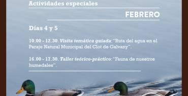 El Clot de Galvany celebra el Día de los Humedales
