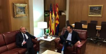 El alcalde de Elche y el director ejecutivo de la EUIPO mantienen un encuentro institucional