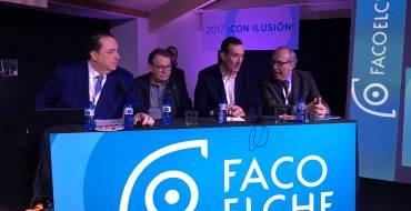 """Carlos González: """"Es un orgullo que relacionen la ciudad con un congreso de innovación e investigación de la altura de FacoElche"""""""