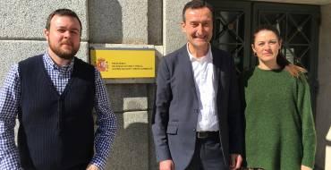 La construcción del colector general de Peña Las Águilas da un paso adelante