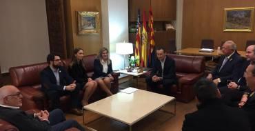 L'alcalde presenta la tripleta de la «Trencà del Guió 2017»
