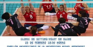 """L'Ajuntament presenta les jornades de """"Sitting Voley"""""""
