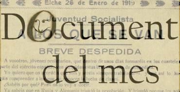 """Febrero: """"A propósito del centenario de la Revolución Rusa de 1917"""""""