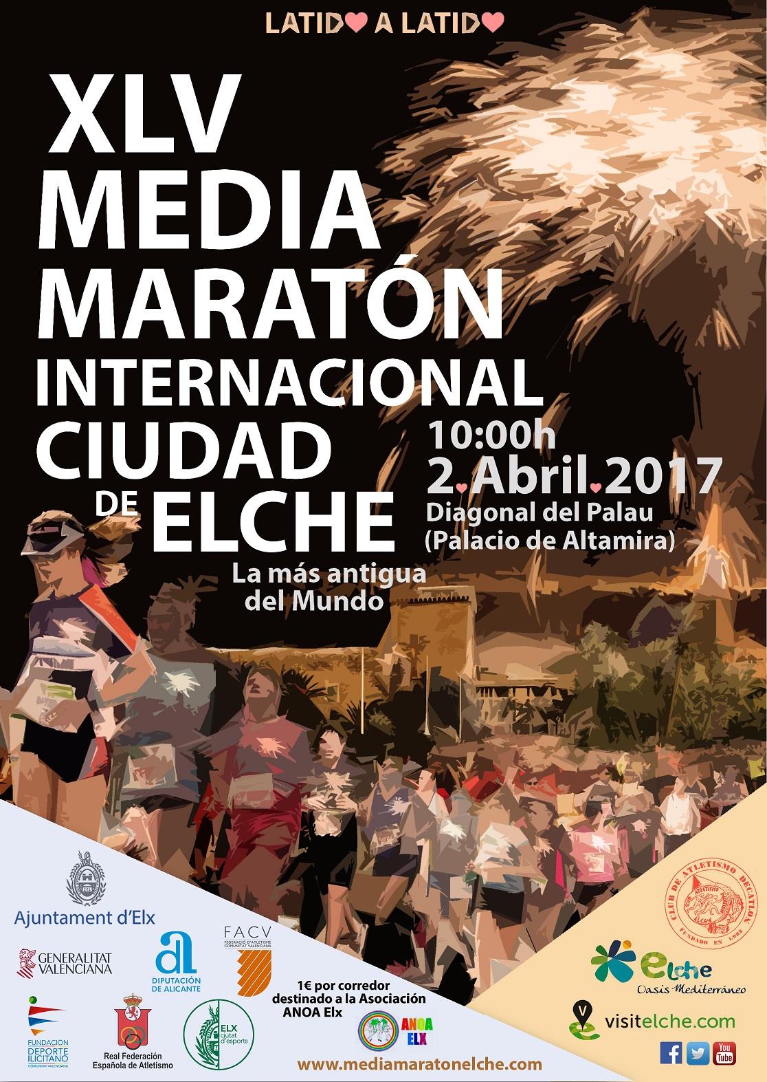 Cuenta atrás para la Media Maratón Internacional Ciudad de Elche