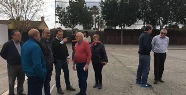 REPARACIÓN DE LA PISTA DEPORTIVA DEL CENTRO CÍVICO DE MATOLA