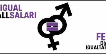 22 de Febrero 2017, Día por la igualdad salarial entre mujeres y hombres.