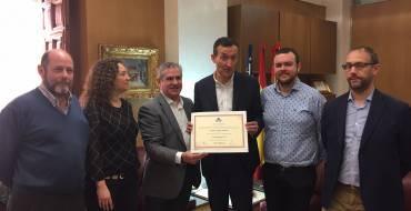 El Salón Internacional del Agua y del Riego de Zaragoza premia el proyecto del colector de Carrús