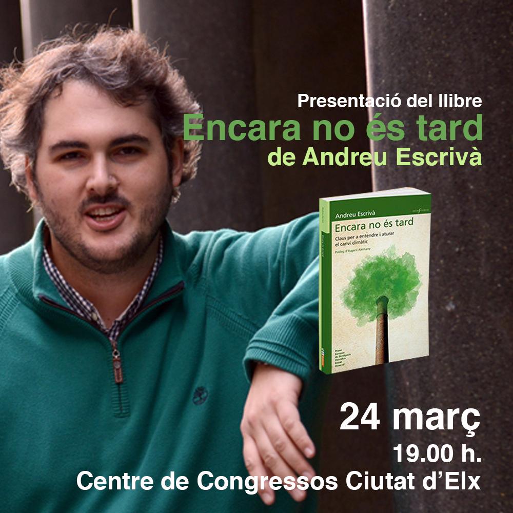 Presentació del llibre 'Encara no és tard' en el Centre de Congressos Ciutat d'Elx
