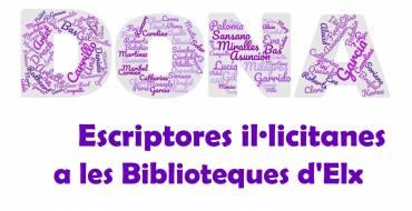 Escriptores il·licitanes en el Dia de la Dona