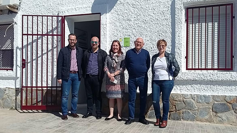 Noves obres executades del Pressupost Participatiu: Renovació de la teulada del Centre Cívic de Matola i nova vorera a l'Algoda