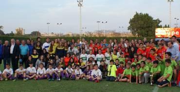 Un torneo social de fútbol reúne en Elche a más de 280 niños