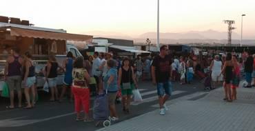 Mercados no sedentario de Arenales del Sol. Martes y viernes