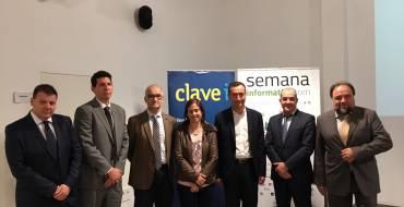 """L'alcalde d'Elx inaugura la """"Setmana Informàtica"""" en el Parc Empresarial de Torrellano"""