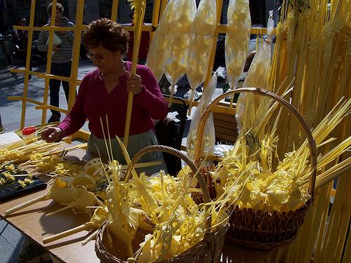 Mercados de palma blanca en elche ayuntamiento de elche for Oficina turismo palma