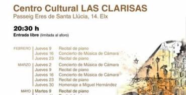 2º Ciclo Jóvenes Intérpretes en Las Clarisas