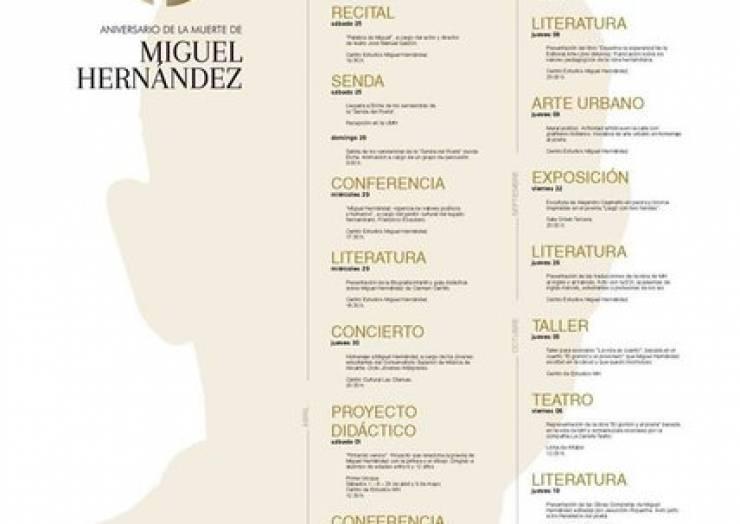 Actos 75 aniversario de la muerte de Miguel Hernández