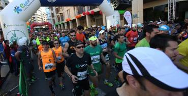 El atleta marroquí Hassane Ahouchar gana por cuarta vez consecutiva la Media Maratón de Elche