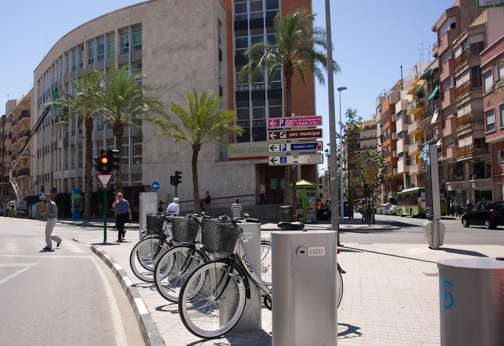 L'estació de Bicielx del centre de salut de Sant Fermí és la que més préstecs registrà en 2016