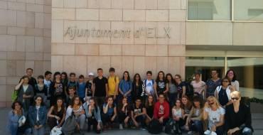 Visita de los alumnos de intercambio