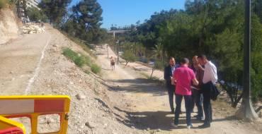 Los talleres de empleo permiten la mejora de la ladera del río