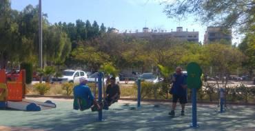 Por primera vez Elche cuenta con un juego para personas con diversidad funcional en una instalación deportiva