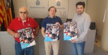 El Ayuntamiento presenta el Campeonato Nacional de Fútbol sala que se realizará en Elche
