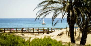 Cinco banderas azules para las playas de Elche
