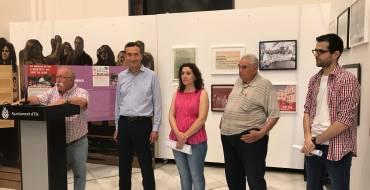 El alcalde reivindica el papel de los sindicatos en la inauguración de la exposición de los 50 años de CC OO
