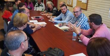 Los concejales de Participación y de Parques y Jardines se reúnen con la Asociación de Vecinos del barrio de Altabix