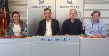 El ayuntamiento logra 15 millones de fondos europeos para mejorar elche, la mayor ayudaeconómica de su historia