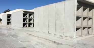 Concluyen las obras de 72 nichos en el Cementerio Nuevo