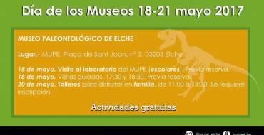 Día Internacional de los Museos en el MUPE