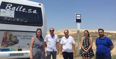 En marcha el servicio de bus a las playas en El Altet y La Marina
